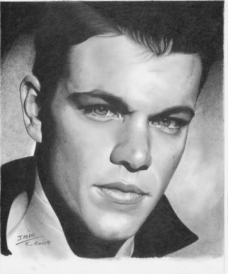 Matt Damon by peggy
